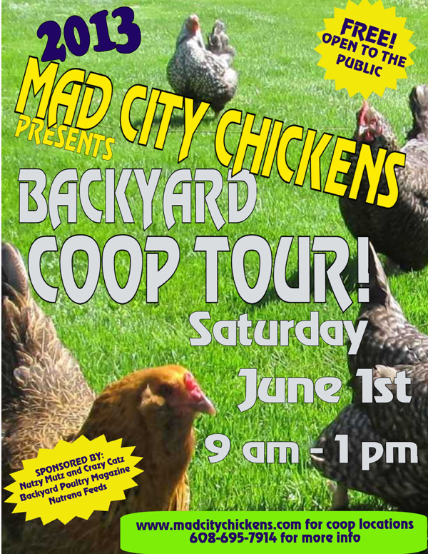2013 Mad City Chickens Coop Tour